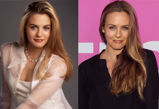 Alicia Silverstone Twenty Years Apart