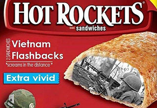 Vietnam flashback Hot Pockets that are extra vivid