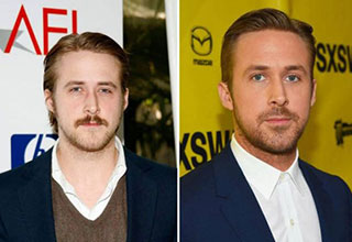ryan gosling ten years ago and him today