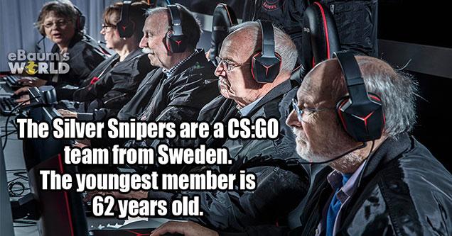 old guys sitting at gaming computers