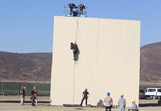 us special forces testing Trumps new border wall