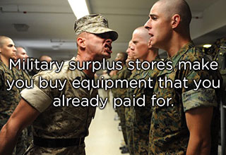 military shower thought about buying from surplus stores