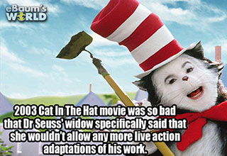 cool fact about the cat in the hat