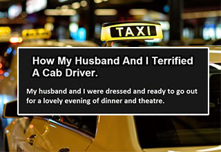 a taxi cab and how he got traumatized