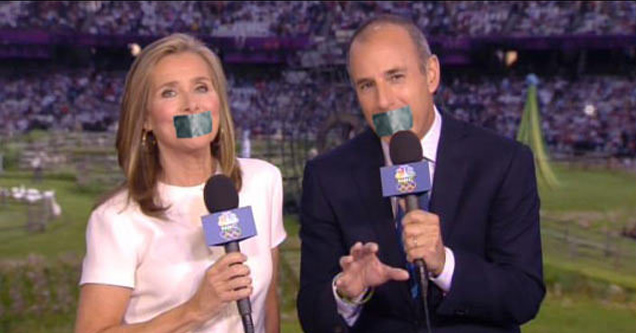 Improving the Olympics by gagging the announcers