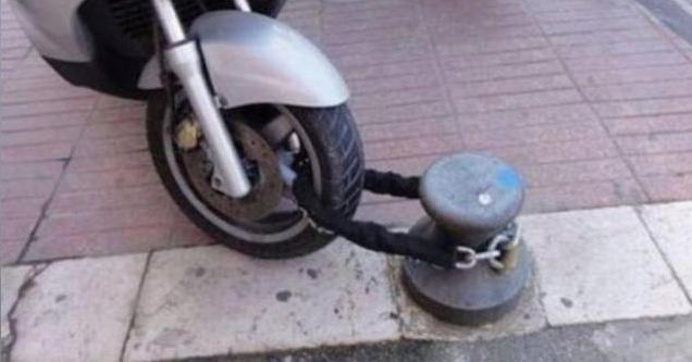 Not so secure bike