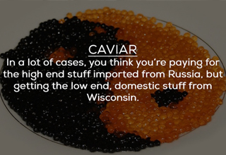 Caviar can be garbage