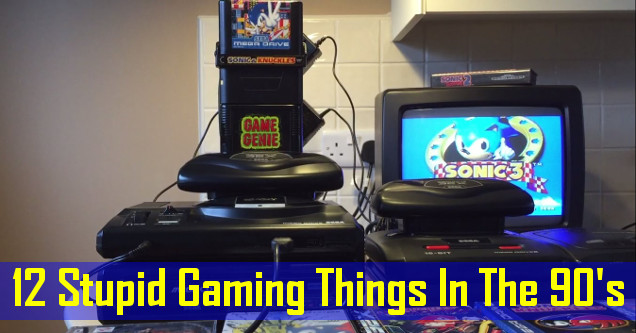 12 Stupid Things We Don't Miss About Gaming In The 90's