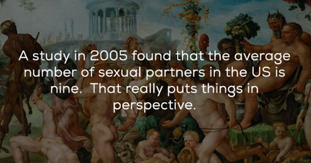 sex fact about the average number of partners