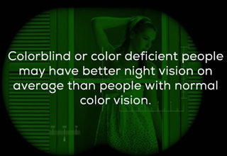 Color blindness fact