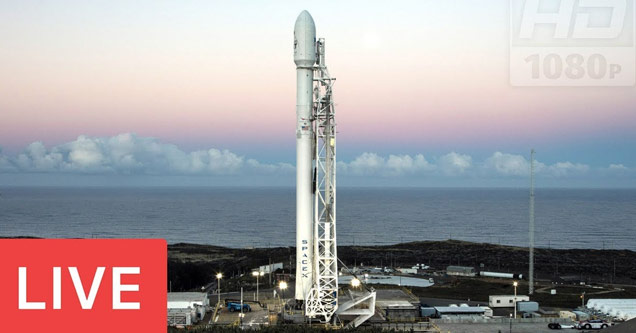 LIVE: SpaceX Falcon 9 Rocket #PAZmission Launch