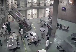 security camera view of the cook county jail