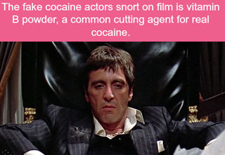 Scarface with movie cocaine fact