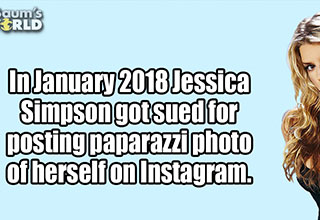 cool facts about Jessica Simpson