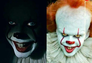 Pennywise, different colored eyes