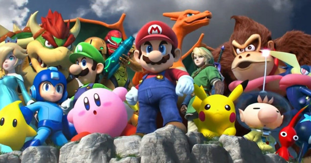 a new super smash bros game is coming to nintendo switch ftw