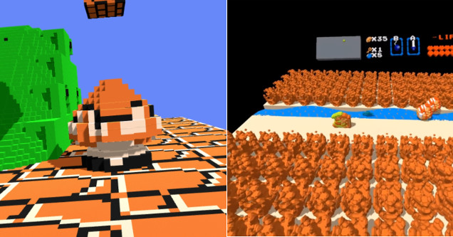 Radical New Emulator Lets You Play Every NES Game In Virtual Reality