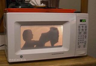 Lovin' in the microwave oven