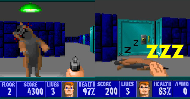 New 'Wolfenstein 3D' Mod Lets You Pet Dogs Instead Of Killing Nazis