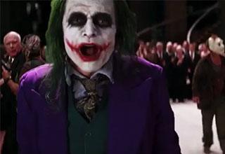 batman edit with Tommy Wiseau as the joker