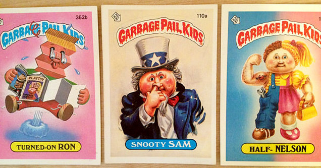 garbage pale kids