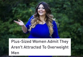 plus sized woman in a big dress