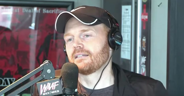 Bill Burr doing a radio interview