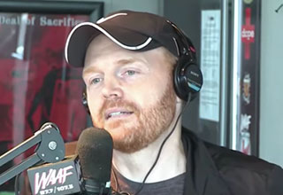 Bill Burr doing a radio interview