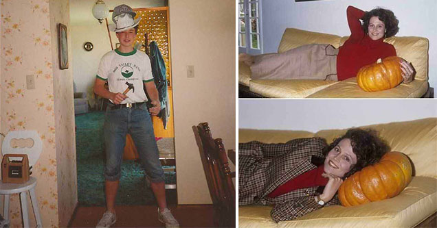 famous people in strange situations