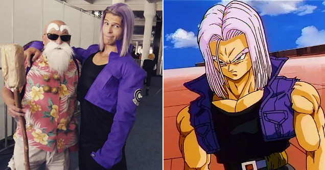 Julian Jaye Dragon Ball Z cosplayer.