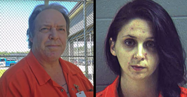 former sons of guns star will hayden and his daughter stephanie both wearing orange prison jumpsuits