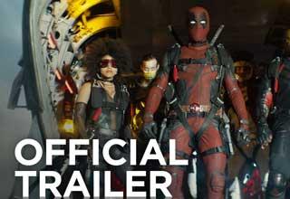 Screenshot from Deadpool 2 official movie trailer