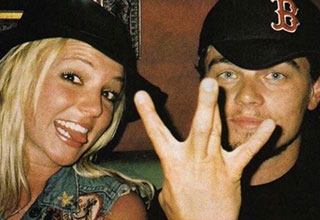 leonardo decaprio and britney spears hanging out