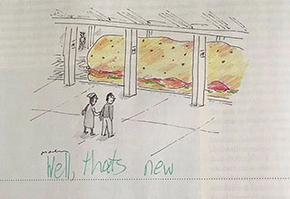 funny caption from The New Yorker's caption contest