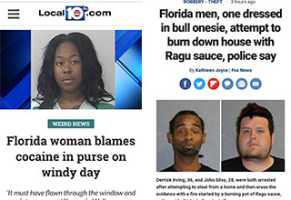 hilarious headlines from the state of Florida