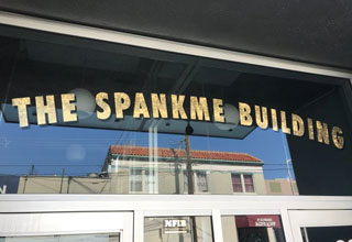 a building named 'the spankme building'