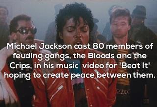 Michael Jackson brings gangs together