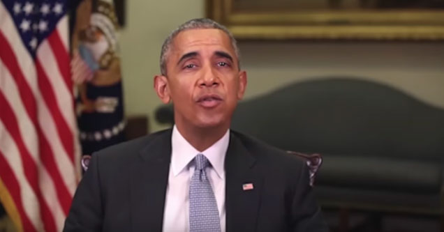 Barack Obama in a deepfake video psa