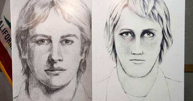 police sketch of the Golden State Serial Killer