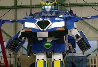 japanese real-life transformer