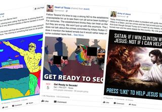 russian facebook ads