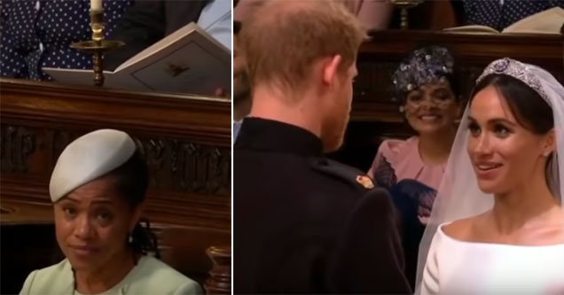 picture of the bride and groom at the royal wedding