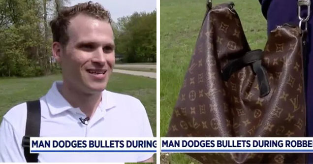 pale dude being interviewed about being robbed