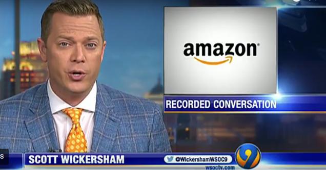 news amazon alexa recorded conversation