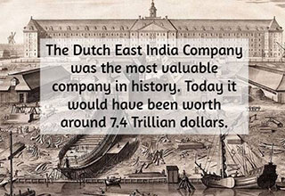 cool fact about the richest company ever