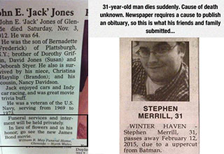 savage obituaries from bitter relatives