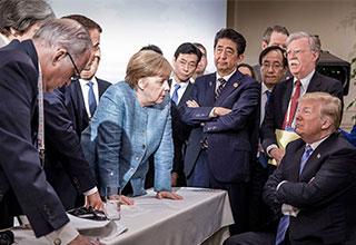 Trump at the G7 summit