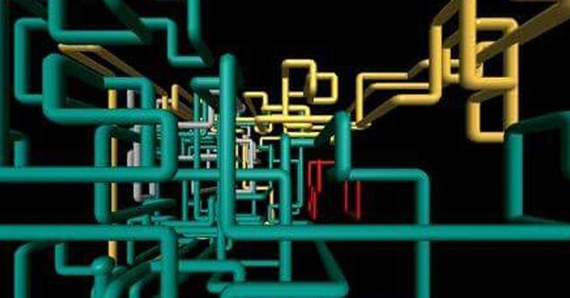 windows 3d pipes 90's nostalgia