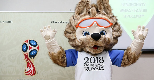 world cup furry mascot
