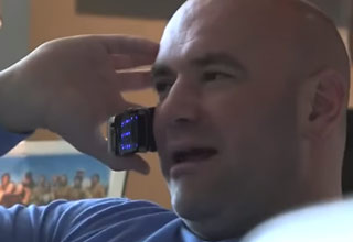 dana white on the phone getting banned from a casino